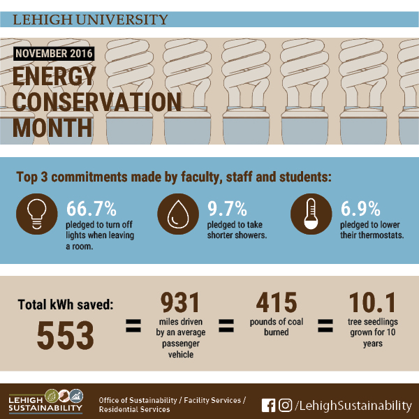 Energy Month Infograph