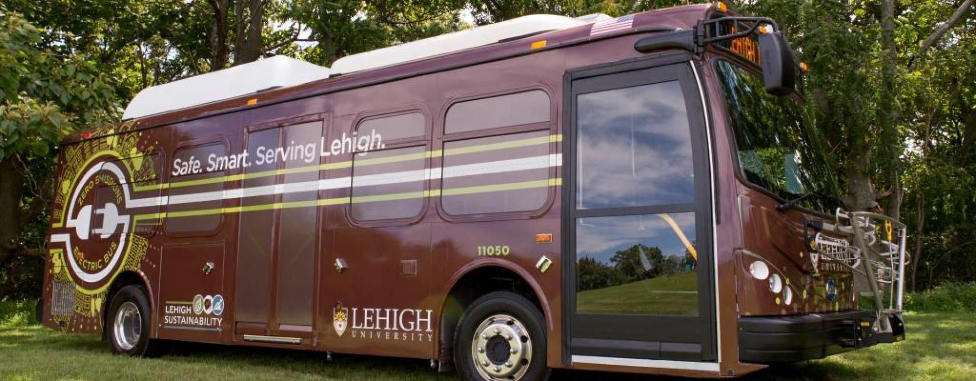 Electric Bus in the Lehigh Fleet